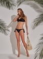 Morhipo Beach Dolgulu Bikini Siyah